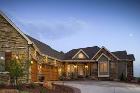 Craftsman Home Plan by Luxury Mountain Craftsman Home Plans Home Plans