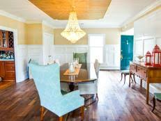 Refinishing A Kitchen Table by How To Refinish A Dining Room Table Hgtv