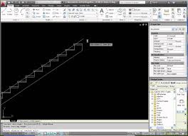 autocad week 3 drafting a stair elevation part 4 youtube