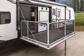 Portable Rv Patio by Travel Trailer Patio Deck Patio Ideas