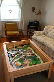 train table with cover astounding coffee table layout under construction model train help