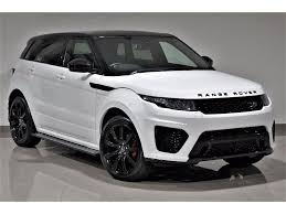 range rover land rover white used land rover range rover evoque hatchback 2 2 sd4 dynamic
