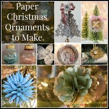 125 best paper christmas ornaments images on pinterest christmas
