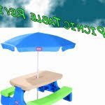 little tikes easy store jr picnic table little tikes easy store junior picnic table with umbrella beautiful