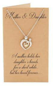 her necklace images Evie mother 39 s heart necklace mothers day jewelry with greeting jpg