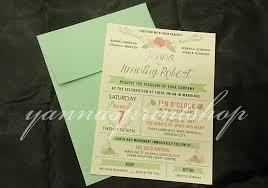 wedding invitations quezon city yannas printshop wedding invitation wstyle030