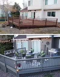 best 25 gray deck ideas on pinterest painted outdoor decks