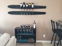 Antler Wine Rack by Water Ski Wine Rack Great Lake Furniture Water Ski Wine Rack