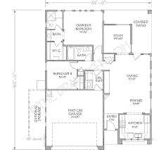 adobe southwestern style house plan 2 beds 2 baths 1221 sq ft
