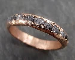 free wedding band custom diamond men s wedding band 14k gold black