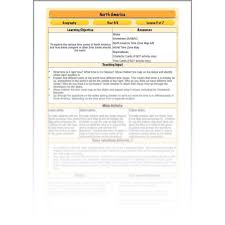 north america time zones planbee single lesson plan