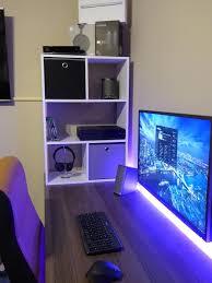 Pc Desk Setup Computer Desk Setups Best 25 Desk Setup Ideas On Pinterest