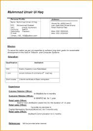 resume sles for freshers download free resume sle in word document mbamarketing sales fresher latest