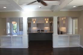 Kitchen Living Room Divider Ideas Half Wall Room Divider Ideas Traditional Living Room By