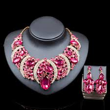 aliexpress necklace set images 2016 african jewelry set wedding necklace womens jewellery set jpg