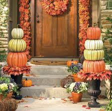 pumpkin topiary create a beautiful fall display with a stacked pumpkin topiary