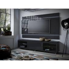 manhattan comfort black tv stands living room furniture