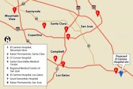 kaiser san jose facility map el camino buys land for new san jose hospital news mountain