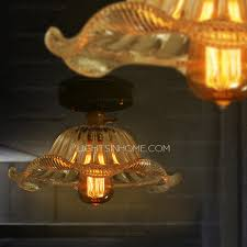 Country Kitchen Ceiling Lights Kitchen Ceiling Lights With Glass Shade Country Style