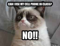 Cell Phone Meme - can i use my cell phone in class no teaching memes