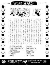 printable halloween crossword puzzle halloween word search puzzles