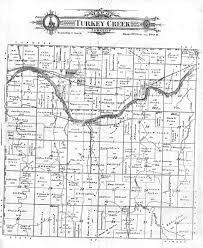 Lincoln Ne Map 1905 Franklin County Nebraska Plat Map