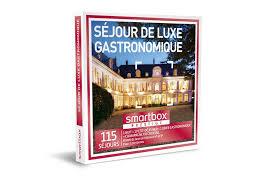 coffret smartbox table et chambre d hote coffret cadeau séjour de luxe gastronomique smartbox