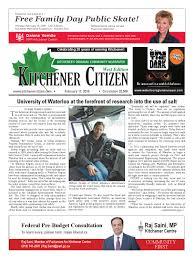 kitchener citizen west edition february 2016 by kitchener