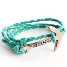 rope bracelet with anchor images You me the sea nautical rope bracelet rose anchor ibiza and jpg