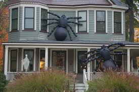 Decorated Houses For Halloween by Westfield Dresses Its Homes For Halloween News Tapinto
