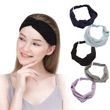 knotted headband women adjustable knotted headbands 5 pack hby