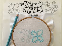 Embroidery Designs For Bed Sheets For Hand Embroidery Feeling Stitchy Mooshiestitch Monday Kamal Kadai Work Flower