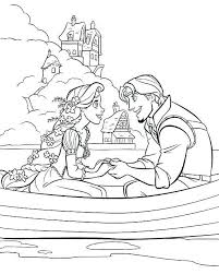 Rapunzel Coloring Pages Easy World Of Craft Coloring Pages Tangled