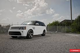 range rover sport custom wheels sporty stance and stylish custom wheels on range rover sport