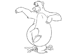 baloo colouring pages gekimoe u2022 27725