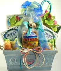 themed gift basket ideas just beachy tropical gift baskets gift