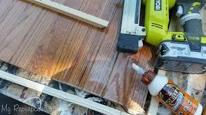 Hardwood Floor Gun Hardwood Floor Glue Pet Friendly Floors Dockside Sand Mannington