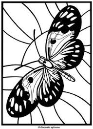 hard butterflies coloring pages adults print butterfly