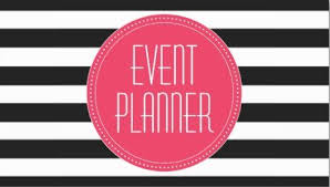 event planner girly event planning business cards page 1 girly business cards