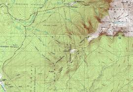 Washington State Topographic Map by Mt Washington Mt Monroe Mt Eisenhower Mt Pierce New