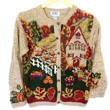 home for thanksgiving tacky sweater the