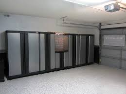 Metal Cabinets For Garage Storage by Modern Garage Style With Garage Overhead Storage Lowes Shelves