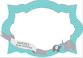 baby shower frames photo frame photo booth prop baby shower printable frame