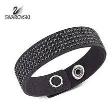 swarovski jewelry bracelet images Swarovski bracelet slake simple jet black 5021030 zhannel jpg