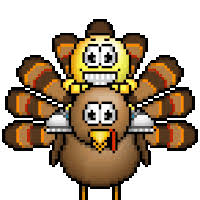 axe turkey animation animations animated happy