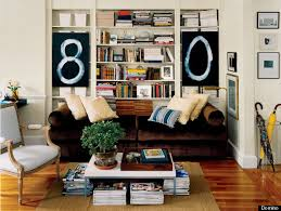 Bookshelves That Hang On The Wall by 6 New Ways To Use Art Without Hanging It On A Wall Huffpost