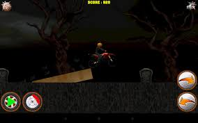 halloween bike rider game android apps on google play