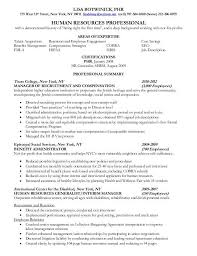 Hr Assistant Resume Hr Generalist Resumes Hr Generalist Resume Writer Sample The