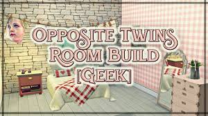 room build opposite twins bedroom geek cc list the sims 4