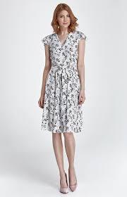 robe bureau robe fleurie à manches courtes chic parfaite pour un cocktail une